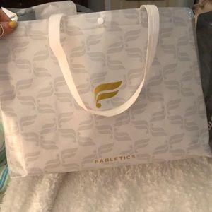 2 large fabletics reusable bags